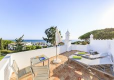 9 vale do lobo roof terrace and sea view