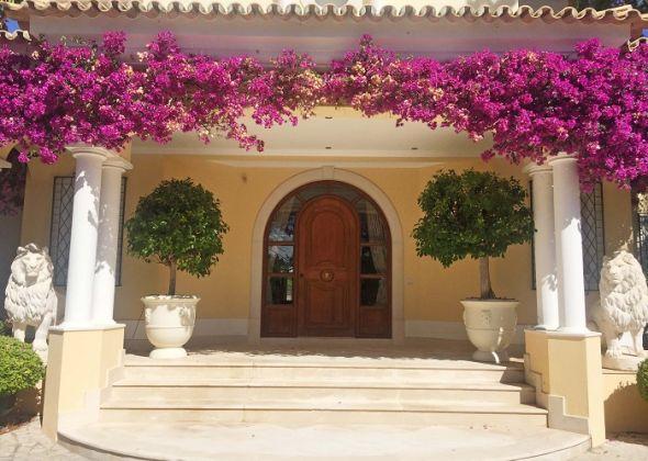Casa Mataluka, Quinta do Lago, entrance