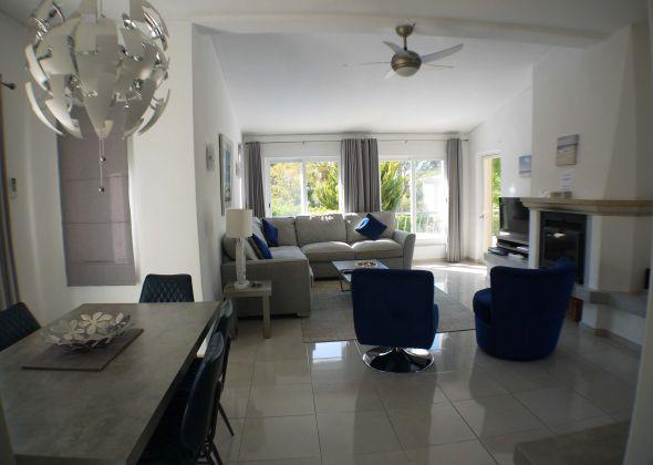 404 Dunas Douradas living and dining area