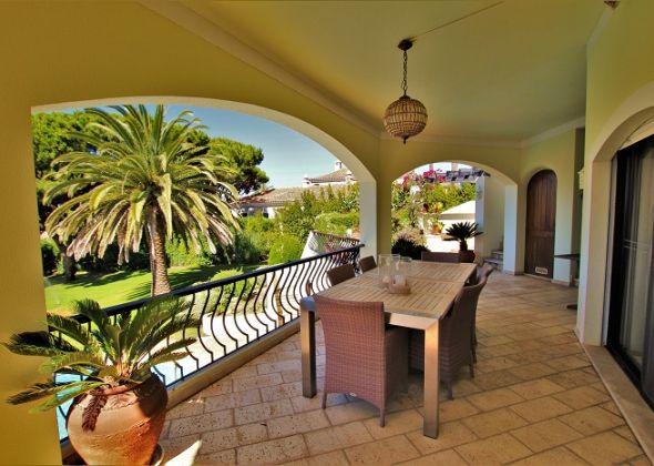 Dunas Douradas villa 918 balcony