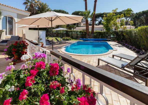 Villa Petra, 407 Dunas pool terrace