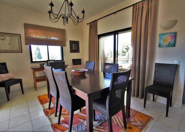 Dunas Douradas villa 918 dining area