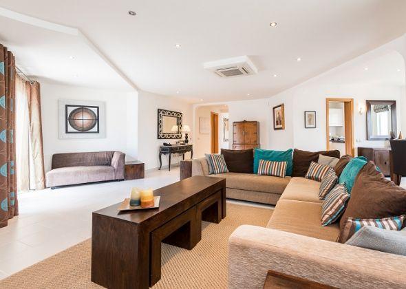 Villa Swakeleys, 1 val verde, lounge