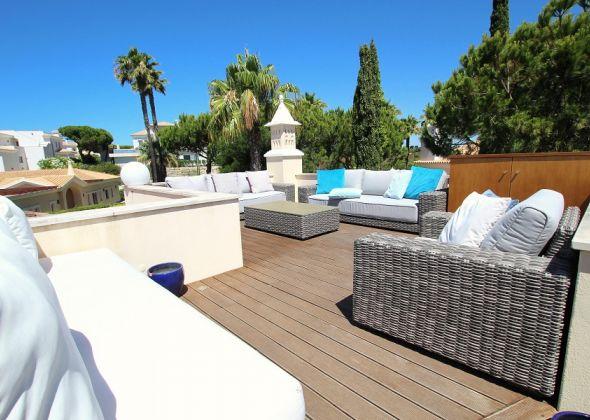 Villa Roselle, 914 Dunas Douradas roof terrace