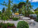 Villa Swakeleys, Val Verde, garden