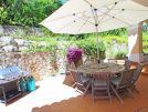 Villa Roselle, 914 Dunas Douradas exterior dining and BBQ area