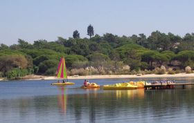 Lake with Water-Sports Centre