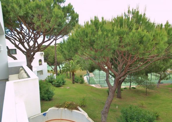 tennis view from apartment 941b vale do lobo