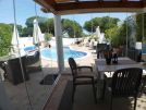 110 dunas douradas dining and pool area